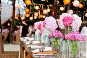 結婚式装花の適正なボリュームは?予算を抑えても寂しくしたくない!